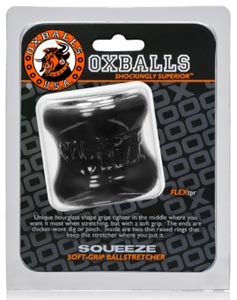 Squeeze Soft-Grip Ballstretcher - Black