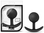 Luxe Wearable Vibra Plug - Black