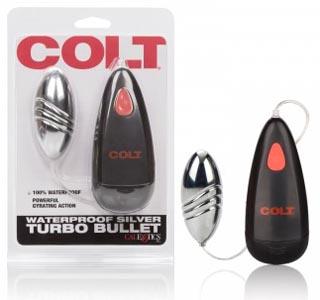 Colt Waterproof Silver Turbo Bullet