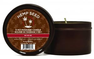Ho Ho Ho Candle With Hemp - 6 Oz.