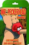Mr. Peckhead Thong - One Size - Black