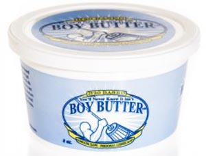 You'll Never Know It Isn't Boy Butter 8 Oz Tub