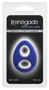 Renegade - Romeo Soft Ring - Blue
