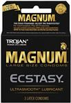 Trojan Magnum  Ecstasy Lubricated Condoms 3-Pack